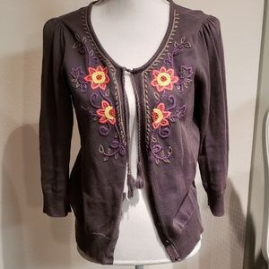 Anthropologie style cardigan